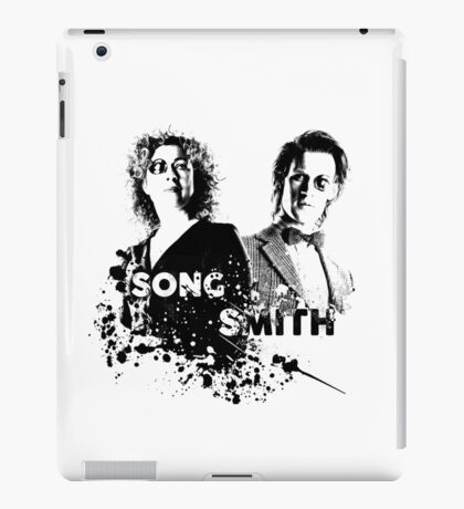 The Doctor & River Song  iPad Case/Skin