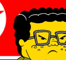Kim Jong Il Pants Sticker