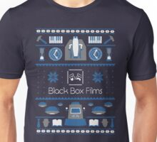 Black Box Films Christmas Sweater (Blue) Unisex T-Shirt