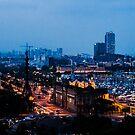 Barcelona at Night  by Sotiris Filippou