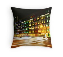 City light Trail, Ministry communication Singapore Throw Pillow