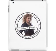 River Song logo iPad Case/Skin