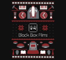Black Box Films Christmas Sweater (Red) One Piece - Long Sleeve