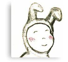 Baby Bunny 2 Canvas Print