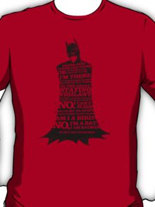 If I stay, There Can Be No Party T-Shirt