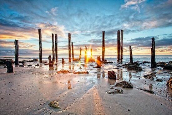 Port Willunga Sunset #1 by AllshotsImaging