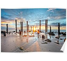 Port Willunga Sunset #1 Poster