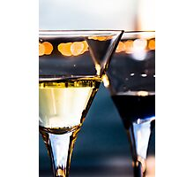 Drinks are Ready Photographic Print