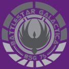 Battlestar Galactica Insignia by heythisisBETH