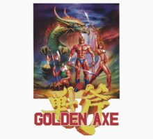 Golden Axe One Piece - Short Sleeve