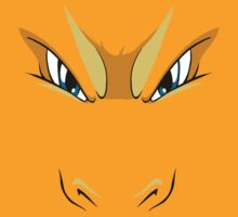 Charizard Face by LucasJackson