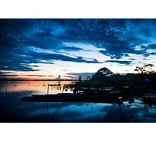 Jungle Sunset Photographic Print