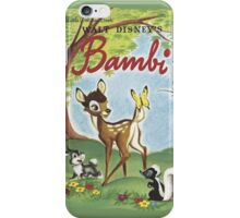 Walt Disneys Bambi iPhone Case/Skin