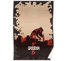 Groudonzilla Poster