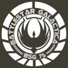 Battlestar Galactica Insignia White by Ralph Lewis