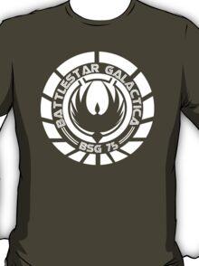 Battlestar Galactica Insignia White T-Shirt