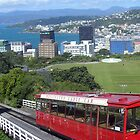 Wellington cable car city view by jezkemp