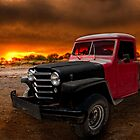 Willys Jeep Pickup Rat Rod Chas's Nemisis! by ChasSinklier