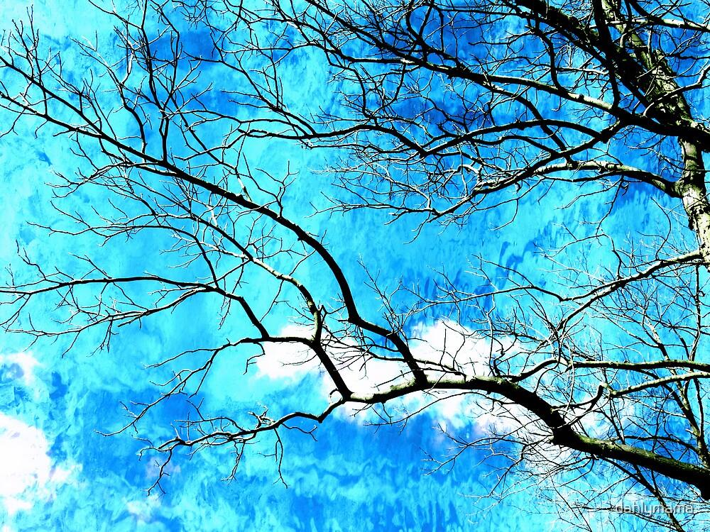 Streaming Skies by SRowe Art