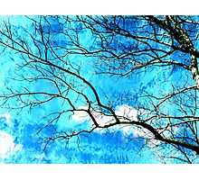 Streaming Skies Photographic Print