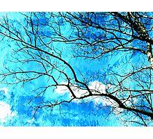 Streaming Skies Photographic Print