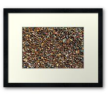 Moonstone Beach Framed Print