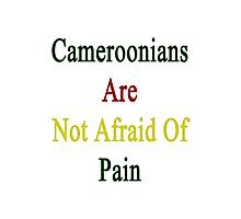 Cameroonians Are Not Afraid Of Pain Photographic Print