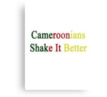 Cameroonians Shake It Better  Metal Print