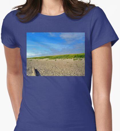 Camp Rilea Beach Womens Fitted T-Shirt