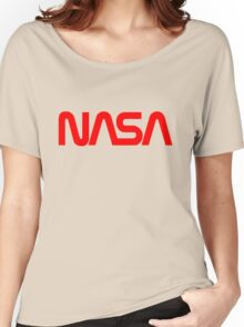 NASA Logo Women's Relaxed Fit T-Shirt