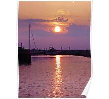 Sandusky Bay Sunset  2 Poster