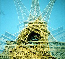 Eiffel Tower is Falling Down - Lomo by chylng