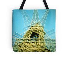 Eiffel Tower is Falling Down - Lomo Tote Bag