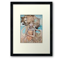 The City of Dreams Framed Print