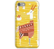 Antelope in the desert iPhone Case/Skin