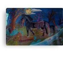My Midnight . . . .  Canvas Print