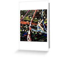 Cirque Du Soleil SILKS Greeting Card