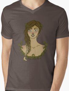Floral Ombre Series #3 Mens V-Neck T-Shirt