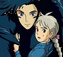 Howls Moving Castle - Howl & Sophie by ChloeJade