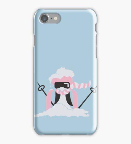 Ski Penguin VRS2 iPhone Case/Skin