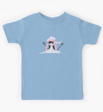 Ski Penguin VRS2 Kids Tee