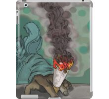 Smoking Alone iPad Case/Skin