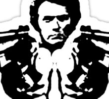 dirty harry-double trouble Sticker
