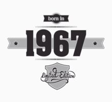 Born in 1967 Kids Clothes