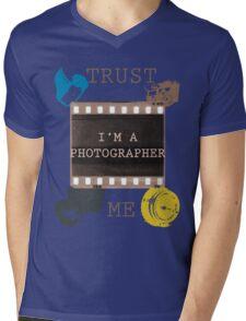 Trust The Photographer Mens V-Neck T-Shirt