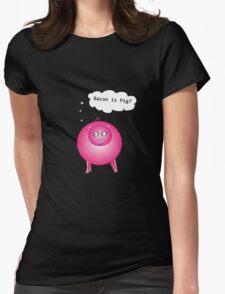 Bacon is Pig? Black T-Shirt