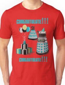 Doctor Who CONGRATULATE!!! Unisex T-Shirt
