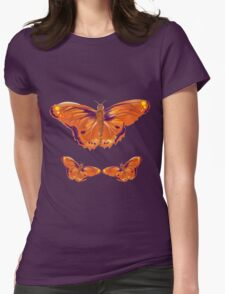Orange and purple butterfly T-Shirt