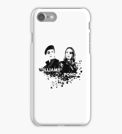 Amy Pond & Rory Williams iPhone Case/Skin
