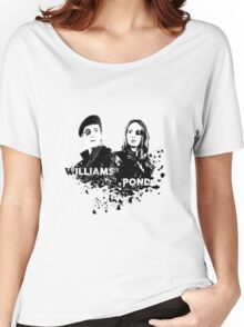 Amy Pond & Rory Williams Women's Relaxed Fit T-Shirt